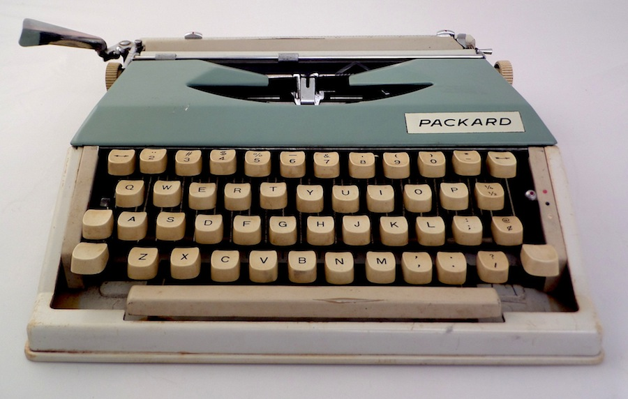 Packard Portable Typewriter