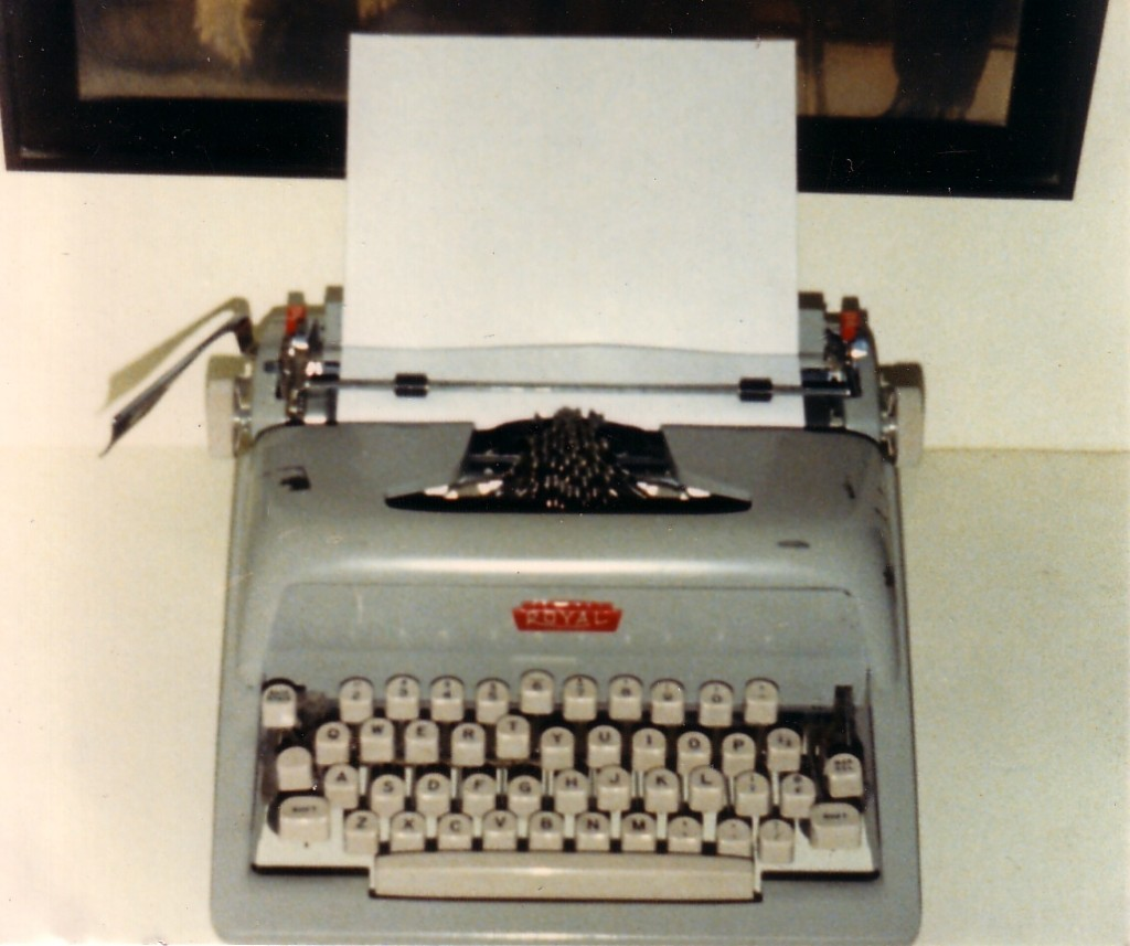 Royal Manual Typewriter