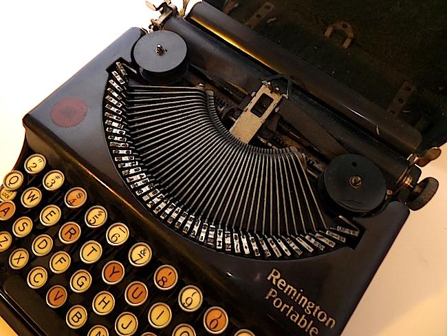 1921 Remington Portable Typewriter type guide