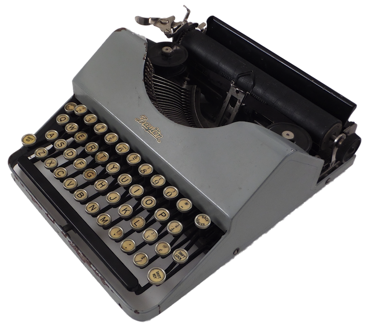 Dayton Portable Typewriter - Type-Writer.org Collection
