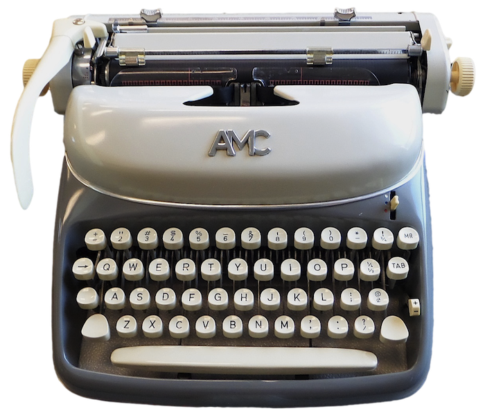 AMC - Alpina Typewriter for U.S. market
