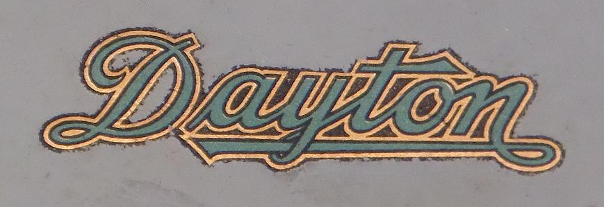 Dayton Portable Typewriter - Logo