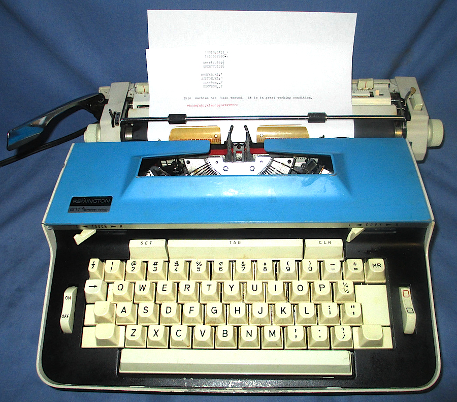 Remington 611 Electric Typewriter
