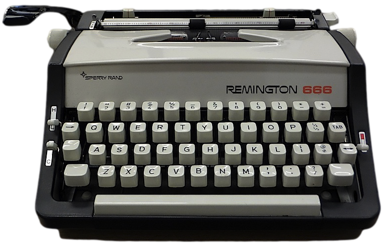 Remington 666 Typewriter