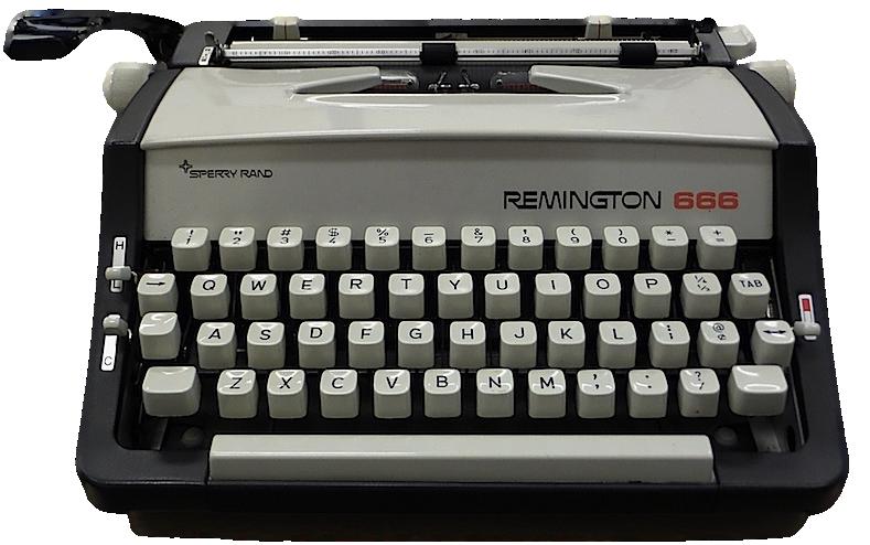 Remington 666 Typewriter