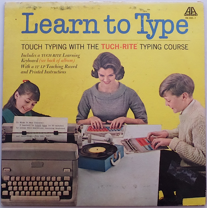 Tuch-Rite Typing System back cover