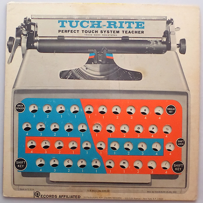 Tuch-Rite Typing System front cover