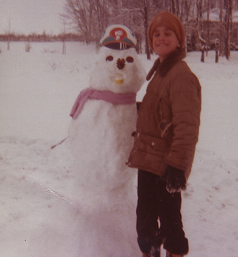 Second Snowman - Frederick Maryland 1970s