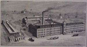 The Remington typewriter factory. Click to enlarge.