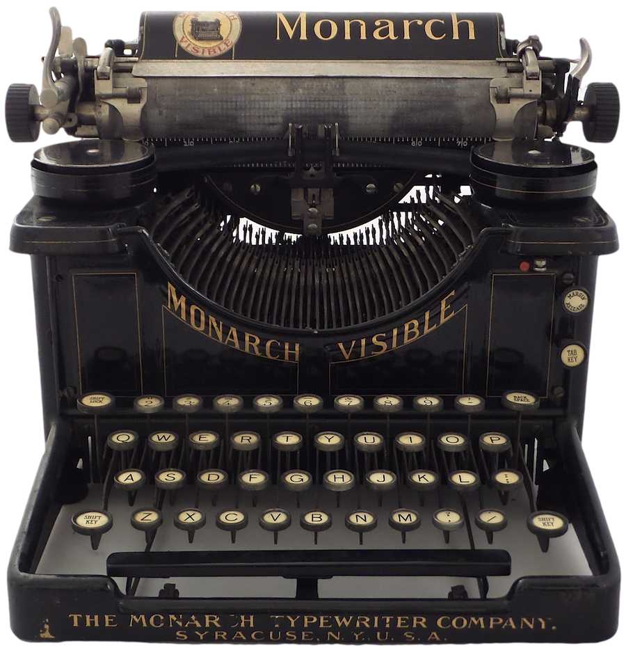 Monarch Visible Typewriter No. 1