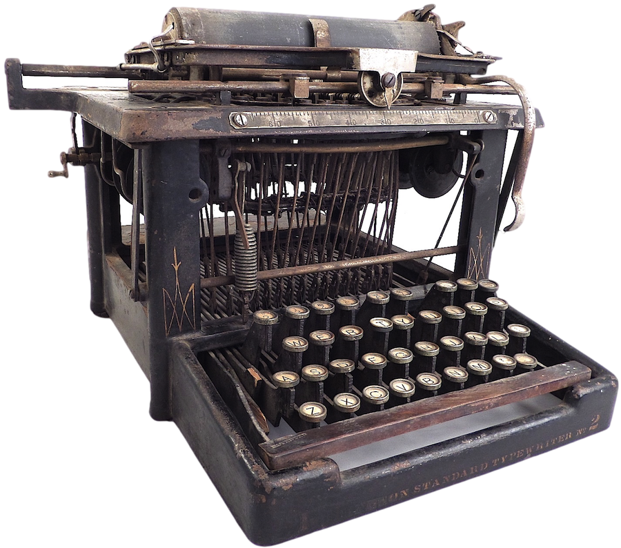 1889 Remington Standard No. 2 Typewriter