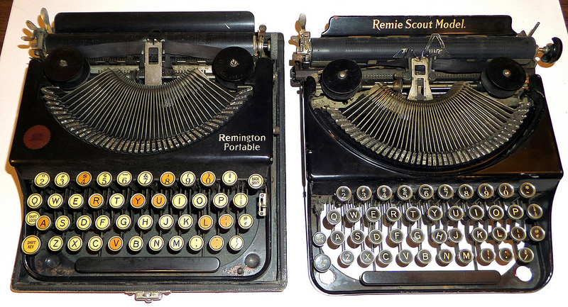 1921 Remington Portable No. 1 and a Remie Scout Model