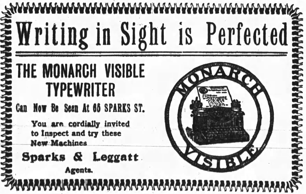 Monarch ad - Ottawa Journal, April 13, 1905