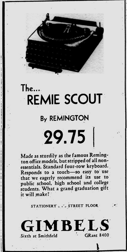 Pittsburgh Post-Gazette, May 19, 1932