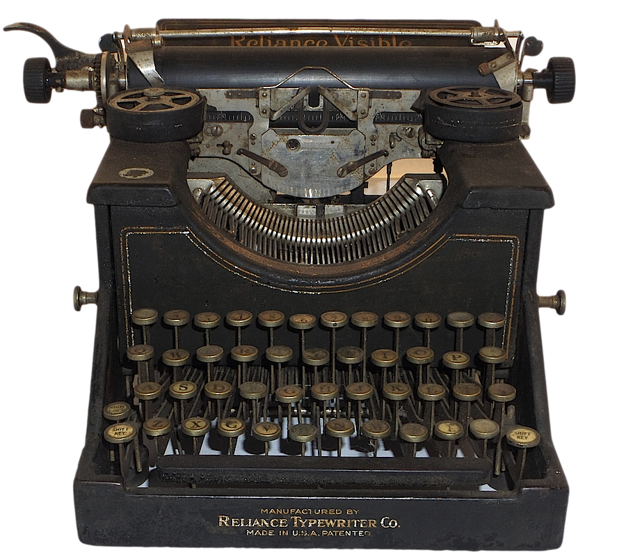 Reliance Visible Typewriter