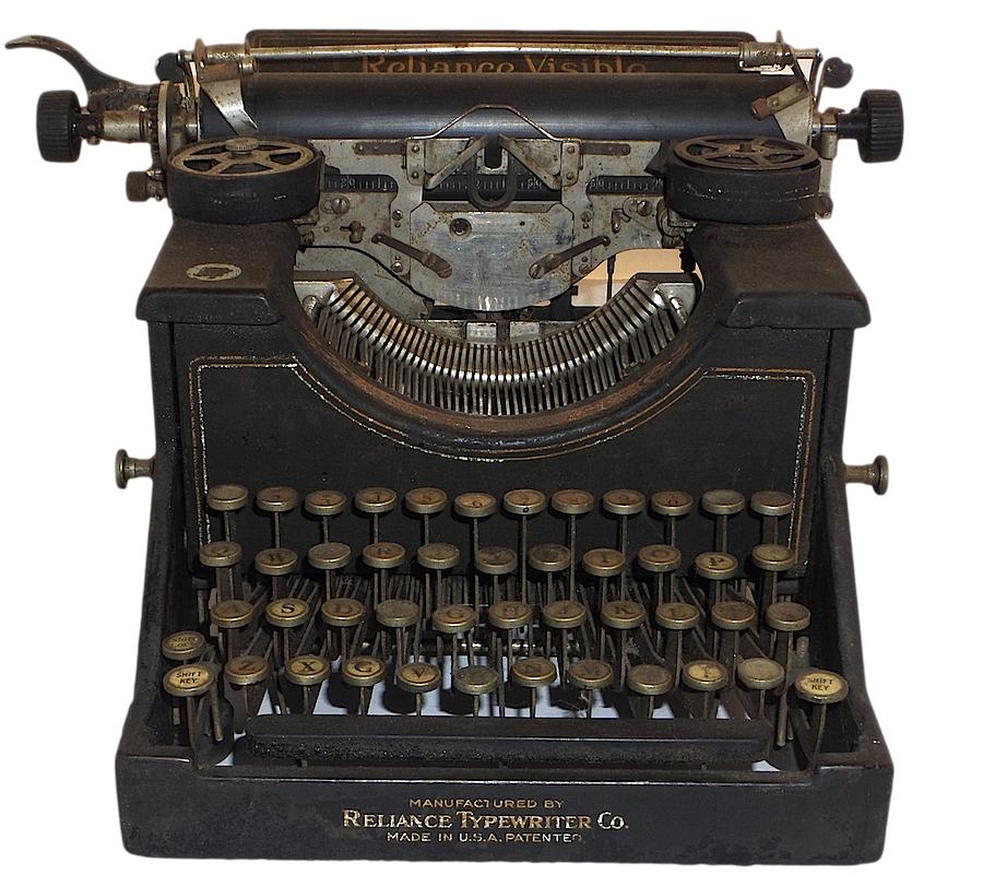 Reliance Visible Typewriter