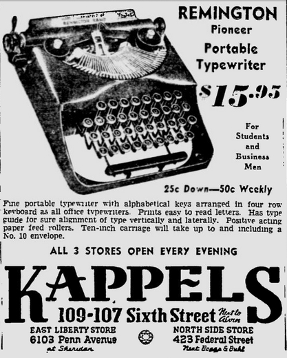 The Pittsburgh Press, Dec. 7, 1938