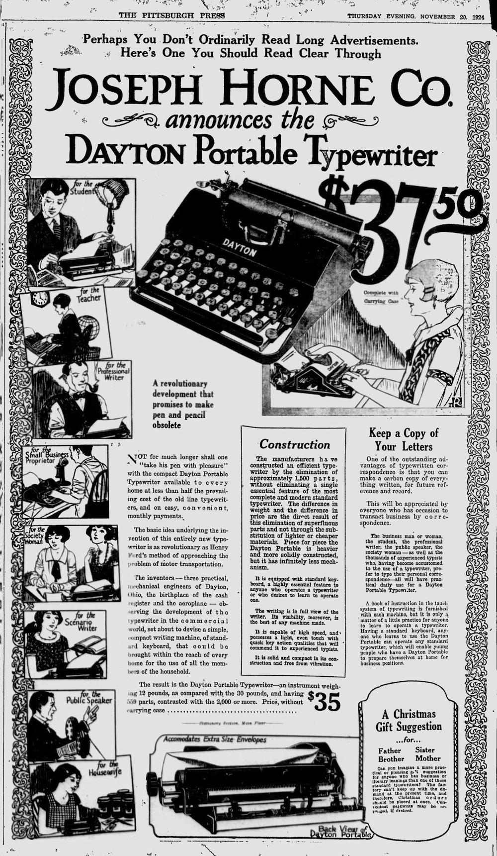 The Pittsburgh Press - Nov 20, 1924