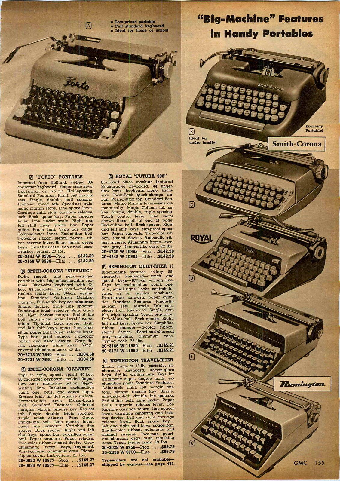 1961 Advertisement