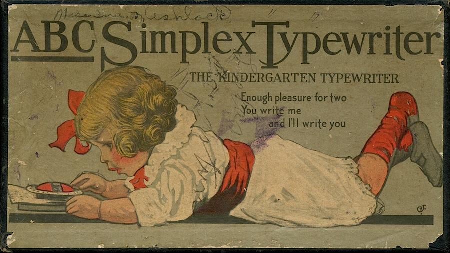 ABC Simplex Typewriter Box