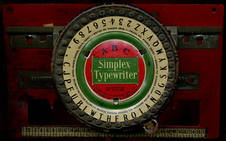 ABC Simplex Typewriter