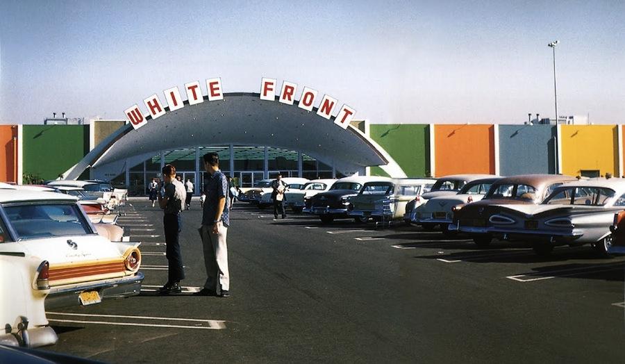 Anaheim White Front 1961