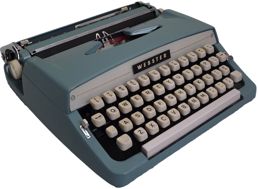 Brother Webster Typewriter 2