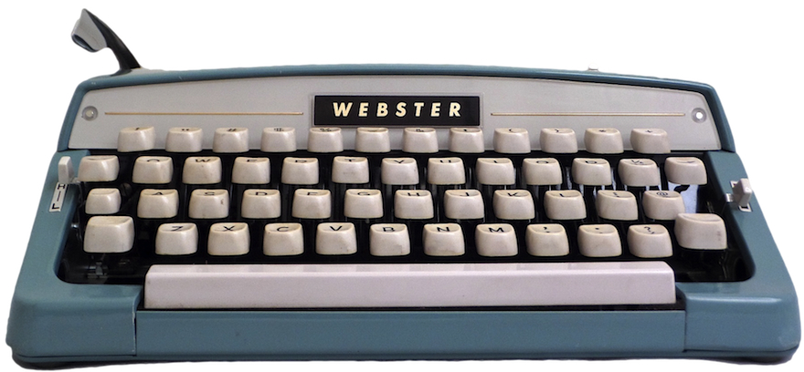 Brother Webster Typewriter