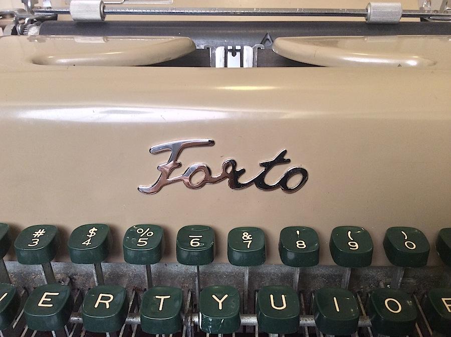 Forto Typewriter 05