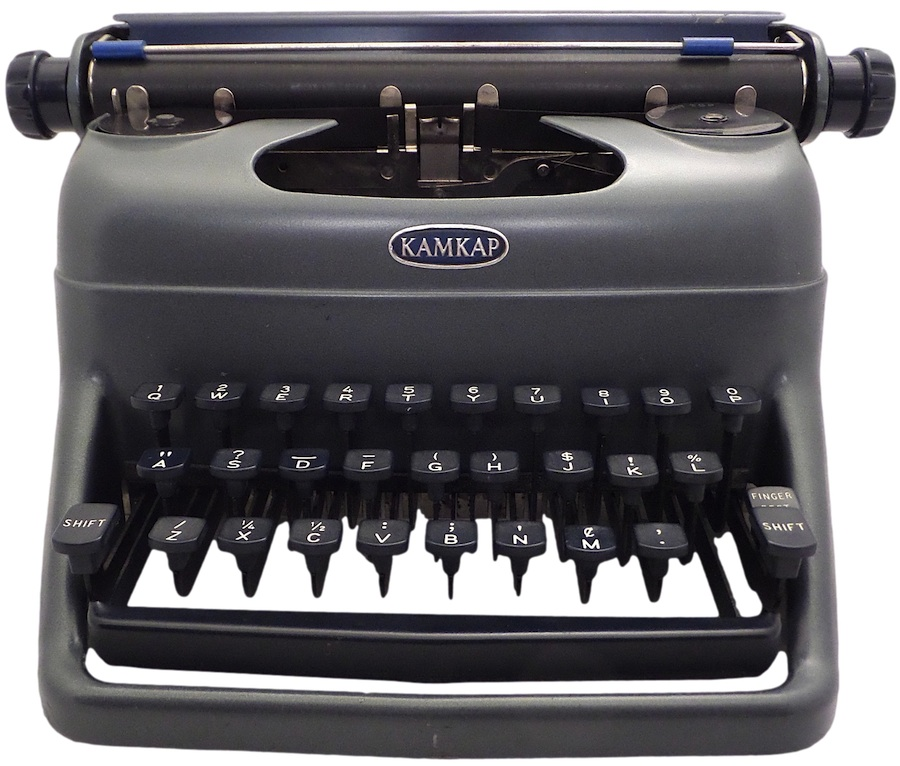 Kamkap Toy Typewriter at Type-Writer.org