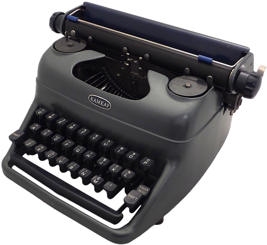 Kamkap Toy Typewriter