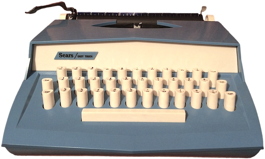 Sears Easy Touch Typewriter with foreign langauge kit