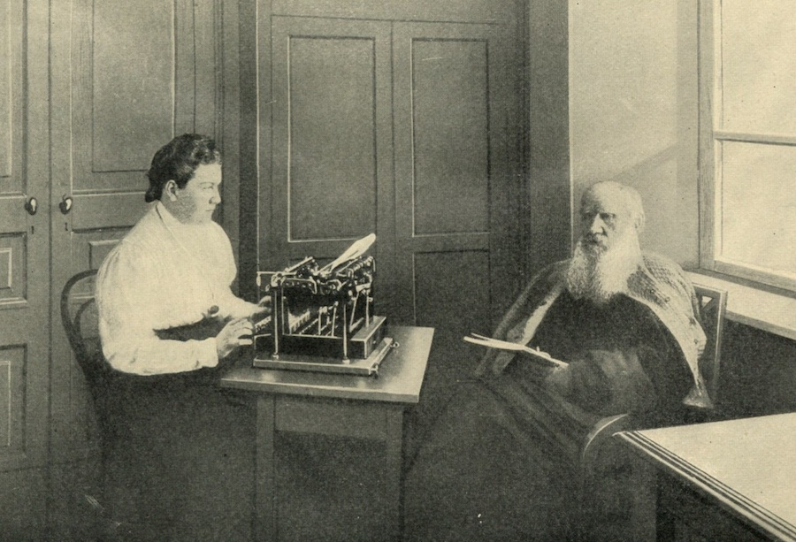 Tolstoy and his typewriter