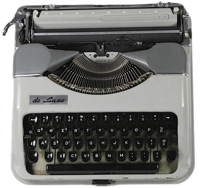 Montana De Luxe Typewriter