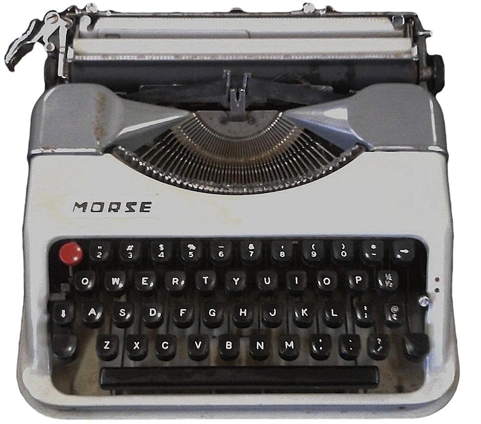 Morse Montana Typewriter