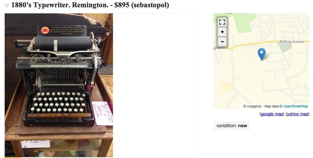 Remington No 2 for 895