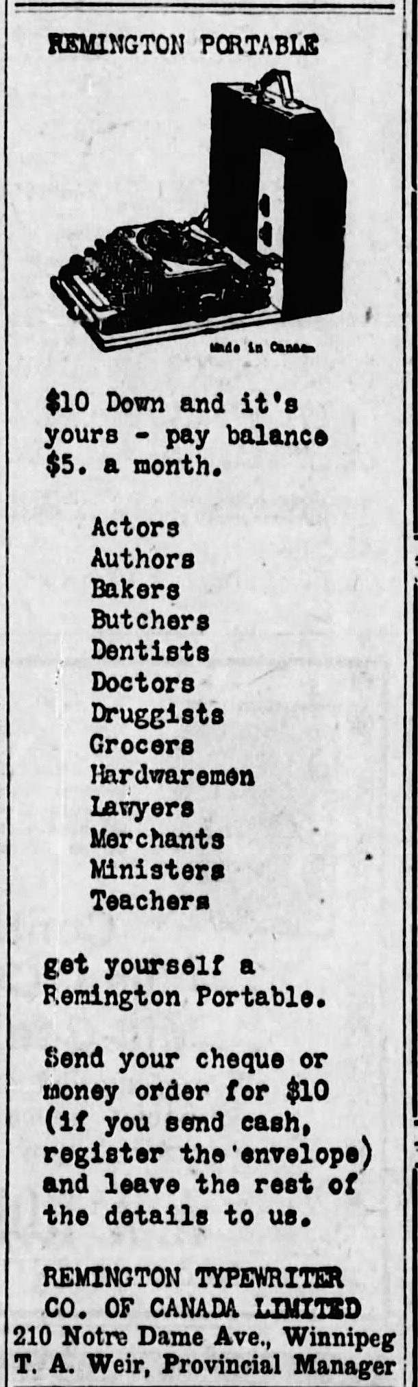 The Winnipeg Tribune (Winnipeg, Manitoba, Canada), Apr 15, 1926