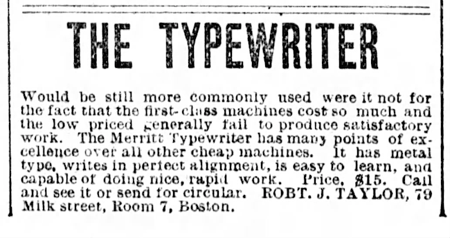 Boston Post (Boston, Massachusetts), Aug 26, 1889