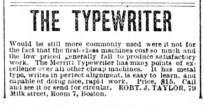 Boston Post (Boston, Massachusetts), Aug 26, 1889