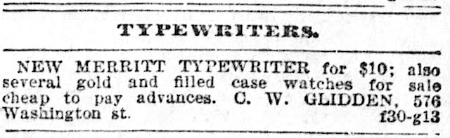 Boston Post (Boston, Massachusetts) July 13, 1896