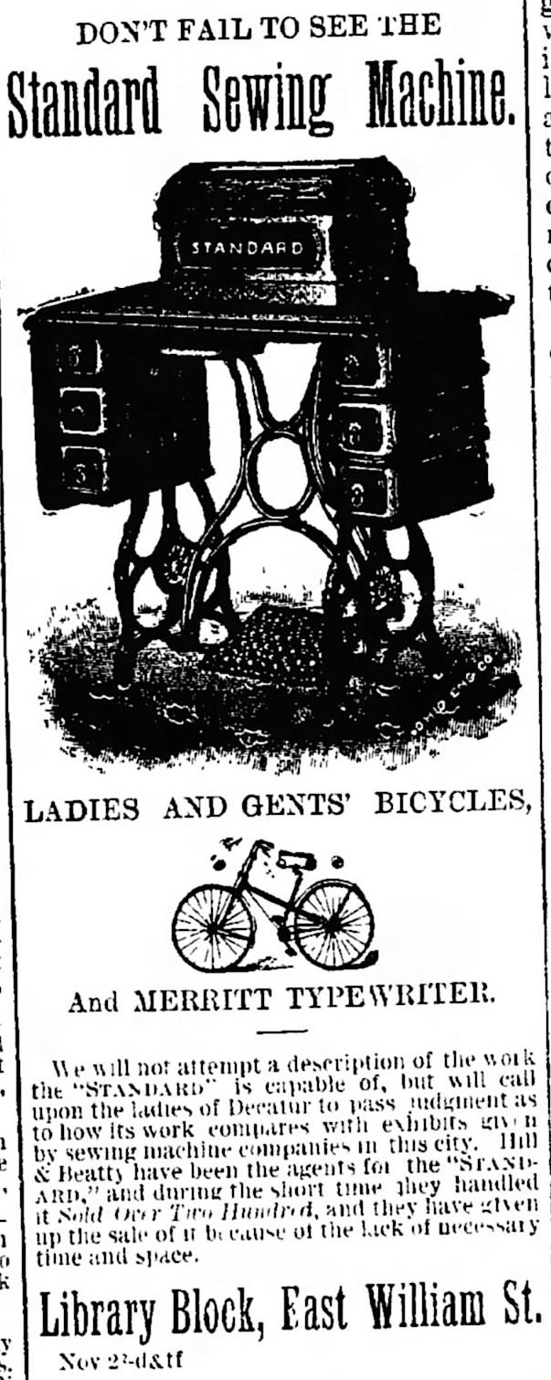 Decatur Daily Republican (Decatur, Illinois), Dec 9, 1889