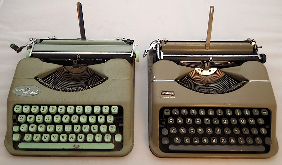 Montana/Hermes typewriters