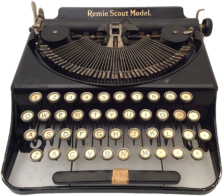 Remie Scout Model C33027 Typewriter