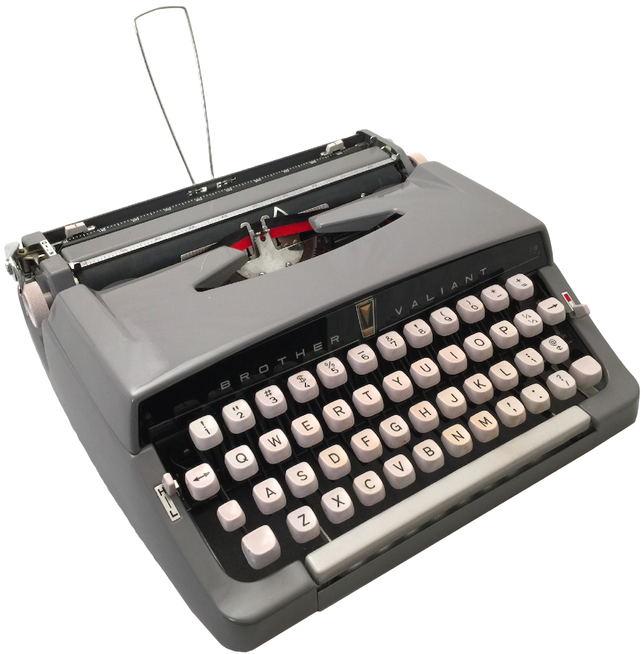 1961 Brother Valiant Typewriter 0001
