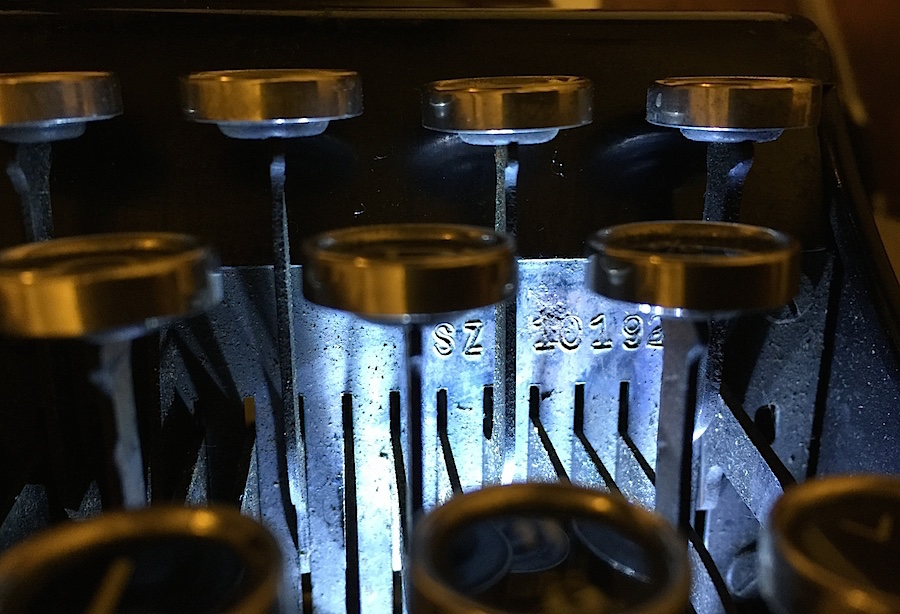 Zeta Remington Junior, serial number - SZ 10192