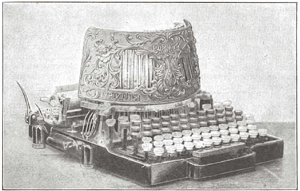 Bar-Lock Typewriter