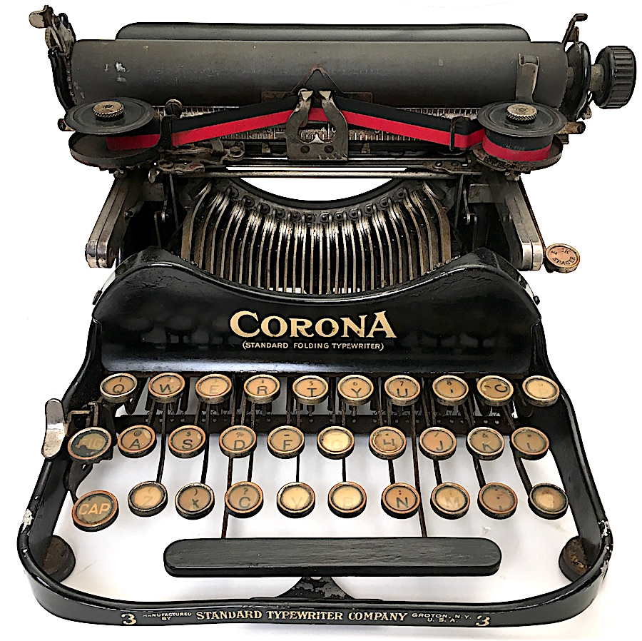 Corona 3 Portable Typewriter ser no 20226 007