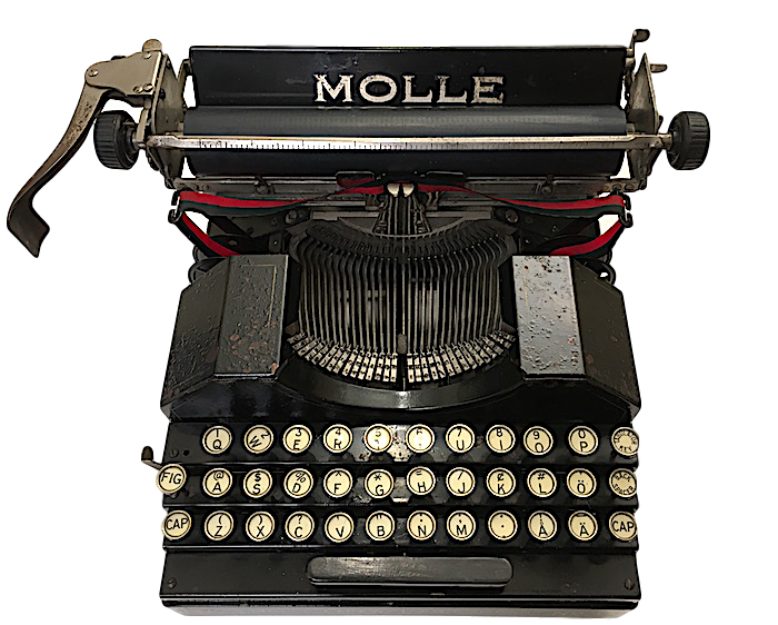 Molle Typewriter 1373 machine