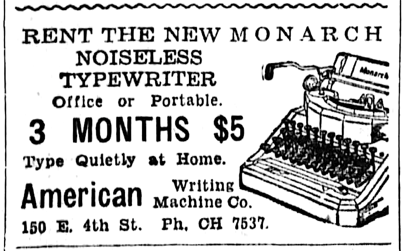 From the Cincinnati Enquirer, Sept. 8, 1935.