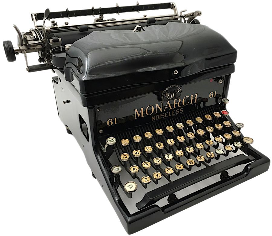 Remington Monarch Noiseless 61 Typewriter X207186 pic 04